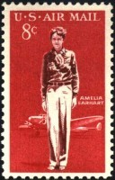 Timbre sur Amelia Earhart