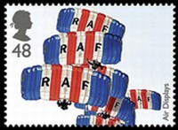 Timbre creation royal air force RAF.