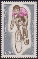 Timbre Jacques Anquetil.