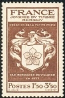 Timbre de France - Journée du timbre 1944.