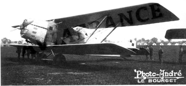 Photographie - Avion Amiot 123.