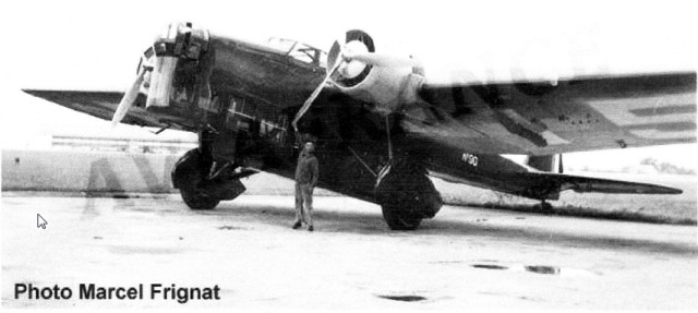 Photographie - Avion Amiot 143.