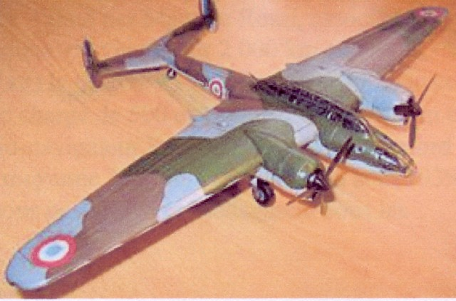 Maquette - Avion Amiot 354.
