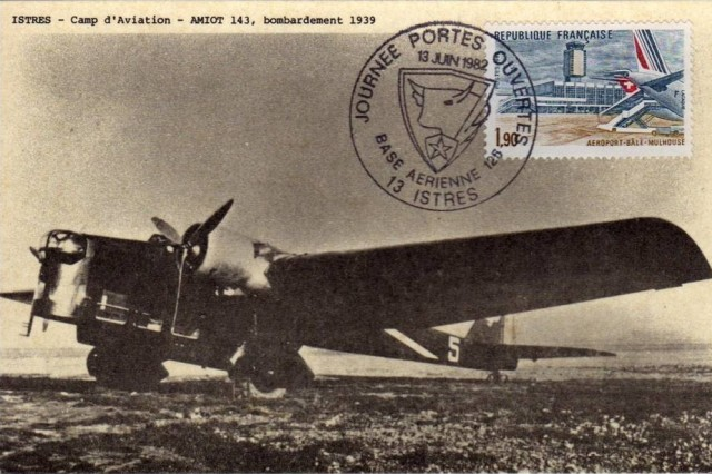 Carte postale - Avion Amiot 143.