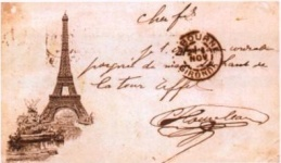 Collection de cartes postale.
