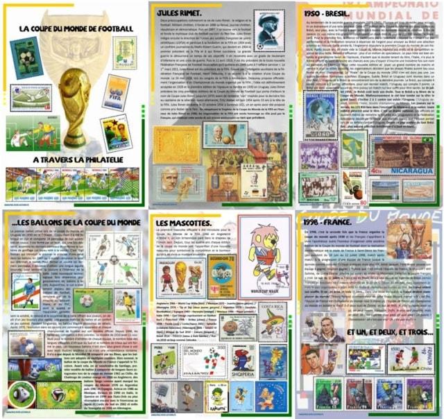1930 2018 histoire timbr e de la coupe du monde - Histoire de la coupe du monde ...