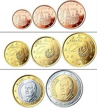 Pieces Des 13 Pays De La Zone Euro Les Faces Nationales