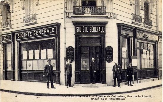 Société Génerale de Colombes. sur Multicollection.fr