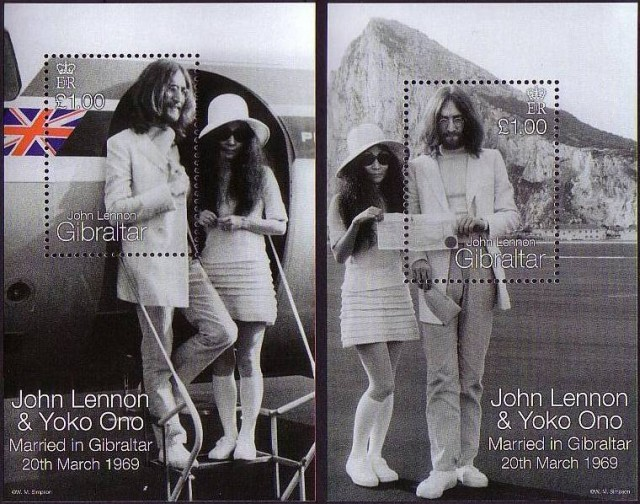 Marige John Lennon - Yoko Onon