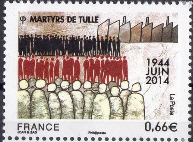 Timbre - Martyrs de Tulle.