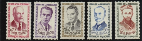 collection de timbres neufs
