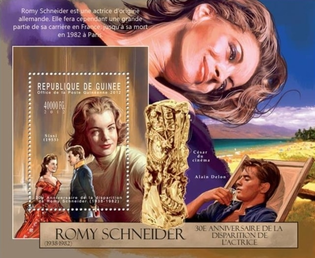 Timbres - Romy Schneider dans Sissi Imperatrice.