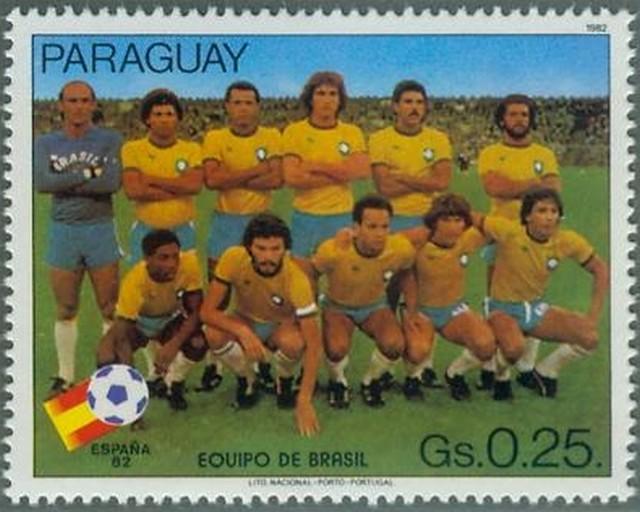 Le br sil et la coupe du monde de football - Coupe du monde de foot 1982 ...