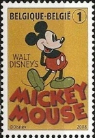 Timbre Mickey Mouse.