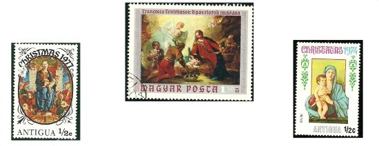 33-timbres-christmas-marie-jesus