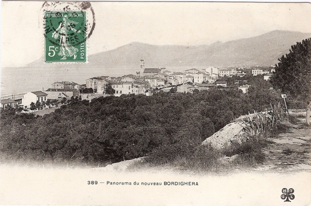 Carte postale Bordighera.