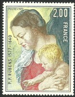 timbres-vierge-enfant-rubens